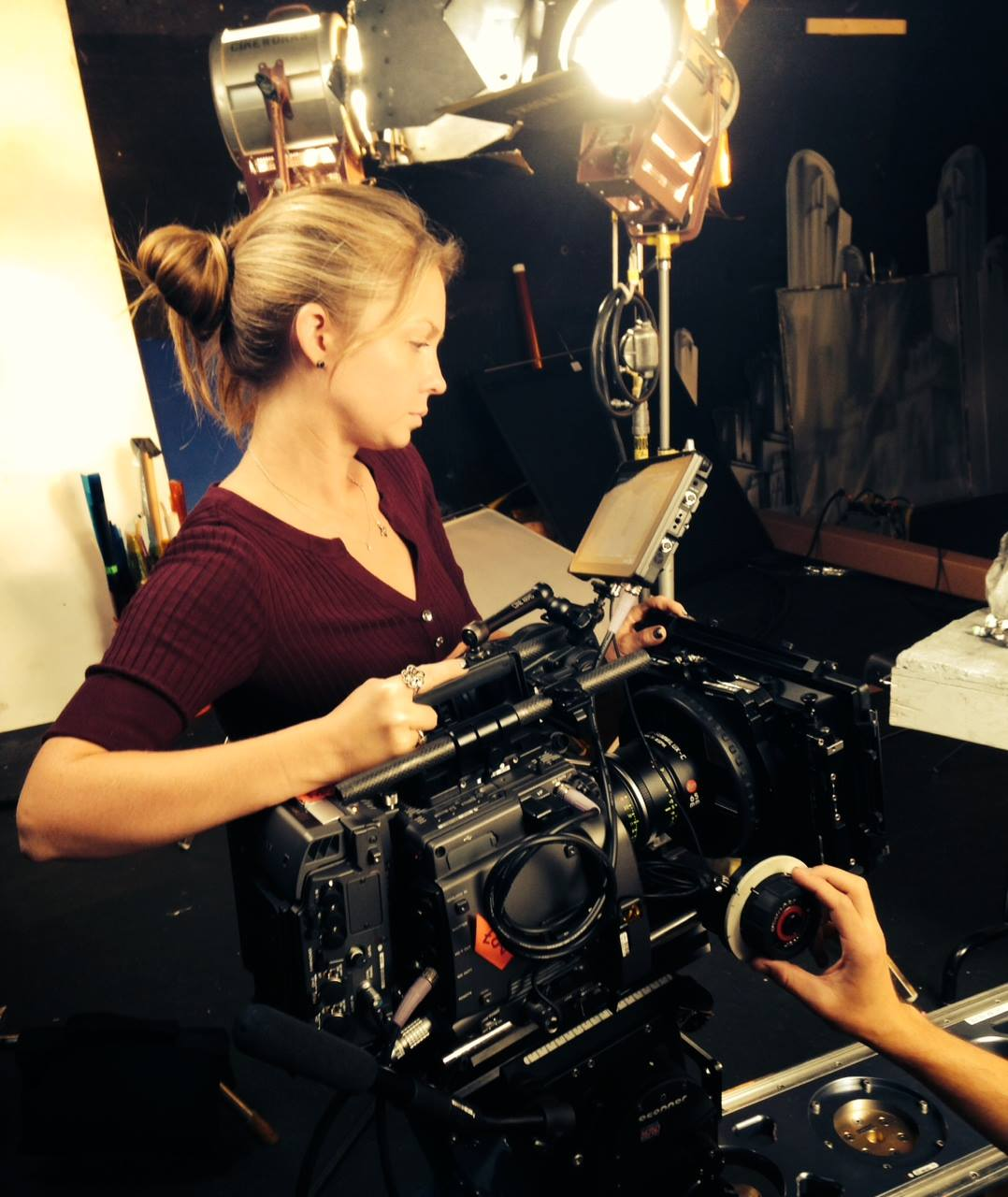 Laura Beth Love, Cinematographer with Sony F65