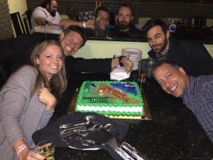 Wrap party for The Horde - Laura Beth Love