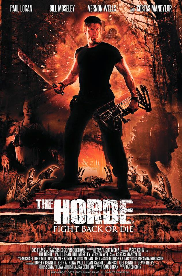 "LB Love Cinematographer shoots ""The Horde"""