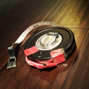 Focus Pullers Measuring Tape