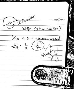 LB Love DP, calculating shutter speed