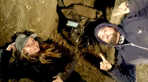 "LB Love DP and Casey McBeath 1st AC on ""Little Dead Rotting Hood"""