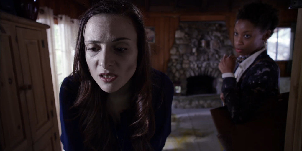 Tabloid Vivant Dir. Kyle Broom, DP Laura Beth Love, Starring Tamzin Brown, Jesse Woodrow